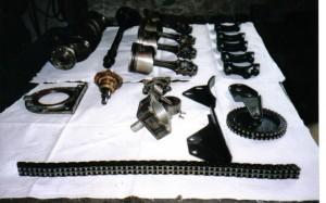 beaucoup de travail pour fiabiliser un moteur de dolomite