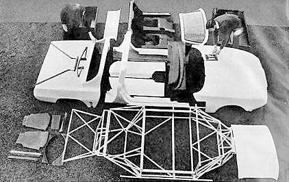 Construction - assemblage d'un kit belge spider Méan Sonora