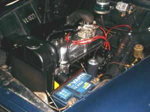 un moteur tout neuf