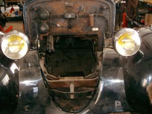 moteur boite déposés