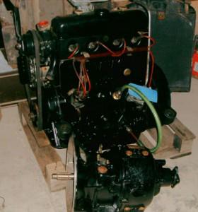 boite et moteur prêts à poser