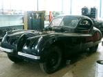 Jaguar XK120 en cours de restauration