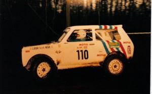 mon niva en championnat de france rallye TT