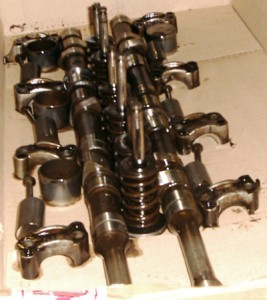 réfection moteur alfa GTV6