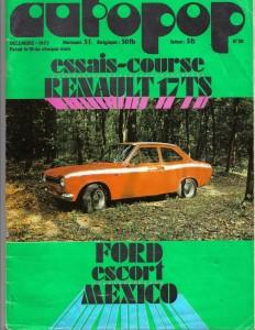 essai fiat 500 AUTOPOP 1973