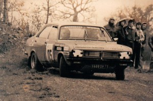 rallye national sur terre en chrysler