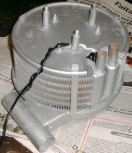 adaptation d\'un radiateur de chauffage