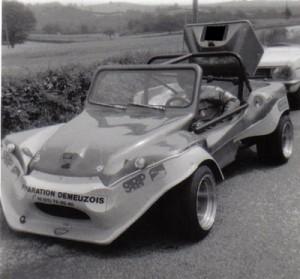 buggy en course
