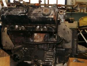 moteur avant restauration