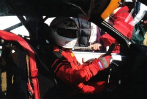 René Arnoux prêt à prendre le départ