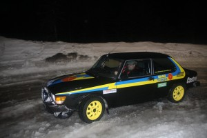 SAAB 99 TURBO en action