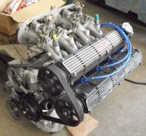 le moteur remonté